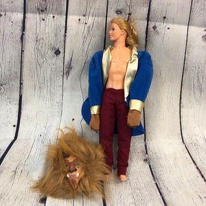Disney Beauty and the Beast Prince Beast Doll